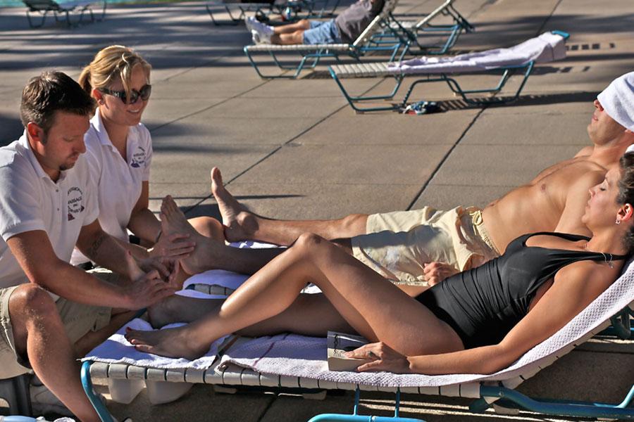 Pool Massage